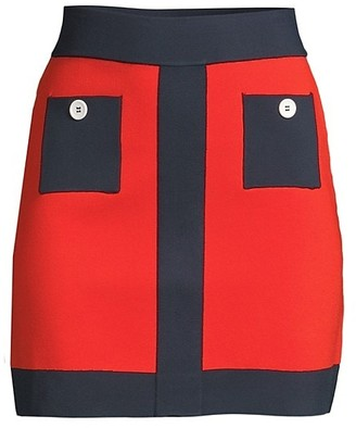 STAUD Jig Mini Skirt
