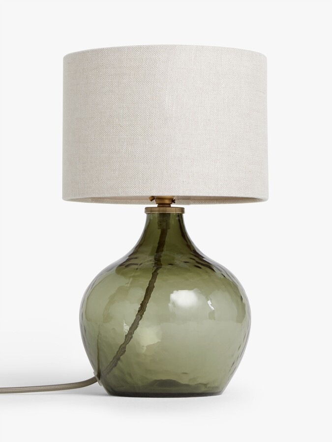Thumbnail for your product : John Lewis & Partners Robyn Small Mottled Glass Lamp Base, H24cm