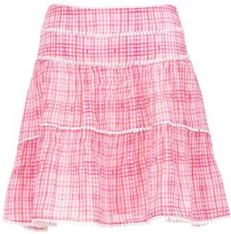 Olympiah printed Riva skirt
