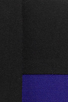 Roland Mouret Manado two-tone crepe jacket