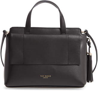 Ted Baker Tassel Leather Top Handle Bag