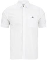 Vivienne Westwood Man Tartan Krall Short Sleeve Shirt White
