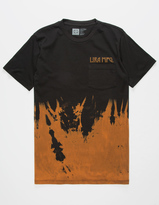 LIRA Bleach Mens Pocket Tee