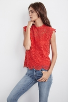 Allie Lace Cap Sleeve Top