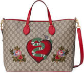 Gucci Limited Edition soft GG Supreme tote
