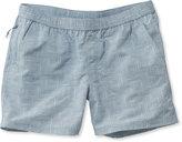 L.L. Bean Stowaway Shorts, Island Geo Print