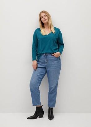 MANGO Organic cotton T-shirt