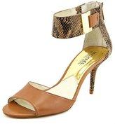 Michael Kors Guiliana Open Toe Ankle Strap Pump Woman Size 7 B