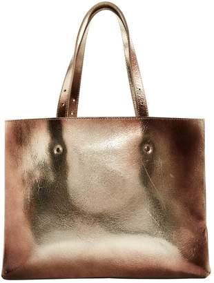 Maison Margiela Metallic Leather Handbags