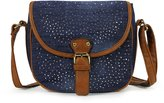 Scarleton Denim Crossbody Bag H173907