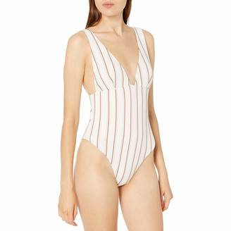 Eberjey Women's Summer Stripes Vivian 1 Piece Swimsuit