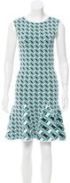 Zac Posen Patterned Mini Dress w/ Tags
