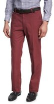 Peter Millar Soft Touch Twill Pants, Wine