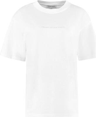Maison Labiche Embroidered Cotton T-shirt