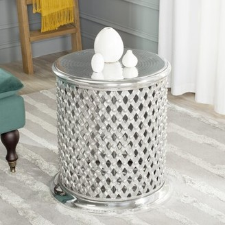 Safavieh Silverd Metal Accent Stool
