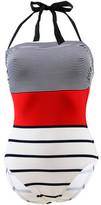 Kiwi Multicolor 1 Piece Swimsuit Raphia MULTICOLOUR