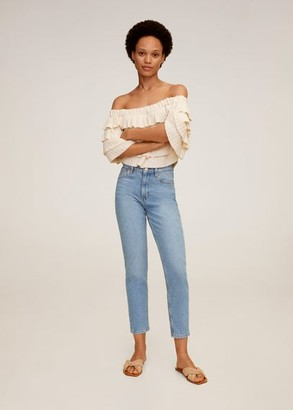 MANGO Mom-fit jeans