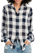 Denim & Supply Ralph Lauren Boyfriend Checked Shirt
