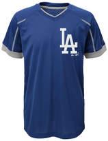 Majestic Los Angeles Dodgers Emergence Crew T-Shirt, Big Boys (8-20)
