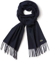 Lacoste Men's Wool And Cashmere Scarf