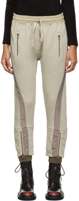 Haider Ackermann Beige Saglia Lounge Pants
