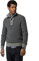 Tommy Hilfiger Waffle Knit Mock Neck Sweater