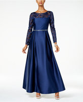 Alex Evenings Illusion Lace Ball Gown