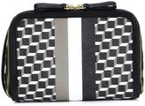 Pierre Hardy geometric print clutch - unisex - Calf Leather/Canvas - One Size