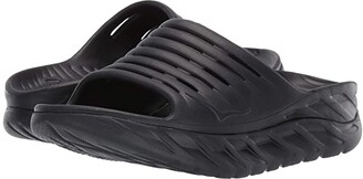 Hoka One One Ora Recovery Slide 2 (Black/Black) Women's Shoes