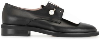 Coliac Pearl Bar Pin Oxford Shoes