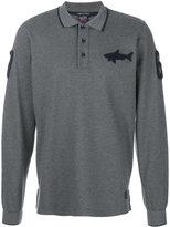 Paul & Shark long sleeve polo shirt
