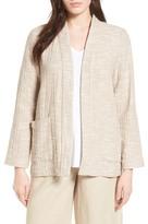 Eileen Fisher Cotton Jacket (Regular & Petite) (Nordstrom Exclusive)