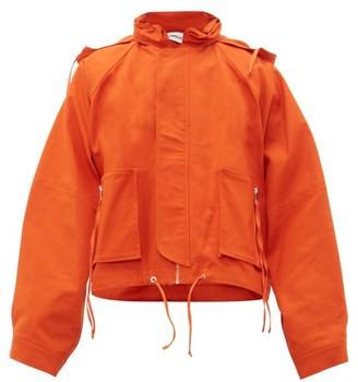 Ambush Oversized Cotton-canvas Jacket - Orange