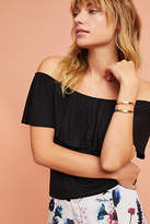 Anthropologie Cassandra Off-The-Shoulder Top
