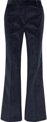 Victoria Beckham Cotton-corduroy Flared Pants