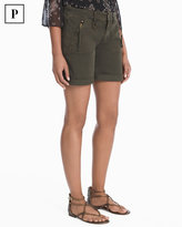White House Black Market Petite 3 1/2-inch Utility Shorts