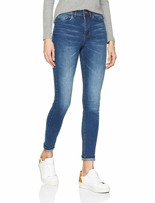 JDY Women's JDYJONA Skinny HIGH MED NOOS DNM Jeans