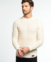 Superdry Nordic Textured Crew Neck Sweater