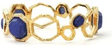 Isharya Goddess Honeycomb Bangle, Blue Lapis