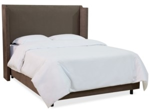 Skyline Jada Nail Button Wing Back Bed - King