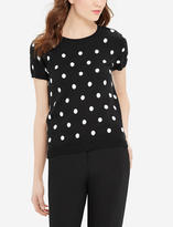 The Limited Polka Dot Sweater Tee