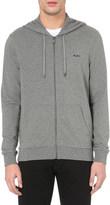 Michael Kors Zip-up stretch-cotton hoody