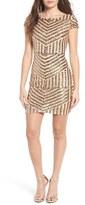 TFNC Women's Colette Sequin Body-Con Dress
