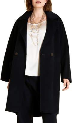 Marina Rinaldi Tazzina Double Face Wool Coat