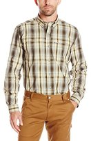 Carhartt Men's Force Mandan Plaid Long-Sleeve Shirt