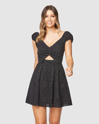 Pilgrim Women's Black Mini Dresses - Carson Mini - Size One Size, 8 at The Iconic