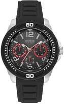 GUESS W0967g1 mens silicone strap sports watch