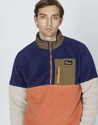 Penfield Medford Fleece in Colourblock
