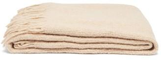 LAUREN MANOOGIAN Fringed Alpaca-blend Blanket - Beige