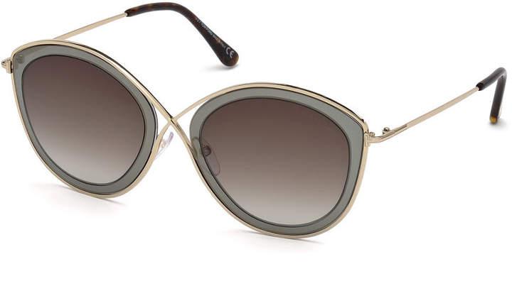 6444883ae6 Metal Nose Bridge Sunglasses - ShopStyle